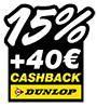 Black Weekend Quick 15 % DU 40 Euro